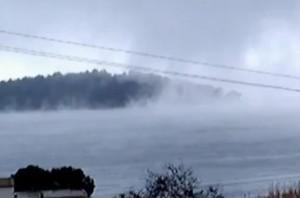 Χιόνια στη Λευκάδα: Ένα εντυπωσιακό βίντεο