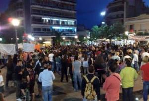 Ραντεβού στην Πλατεία για διαμαρτυρία…