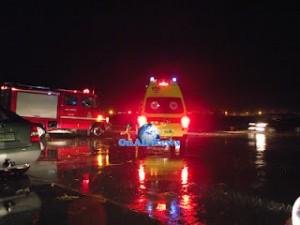 ΜΕΣΟΛΟΓΓΙ:Επεσε αυτοκίνητο στο λιμάνι(ΦΩΤΟ)