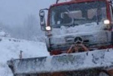 Που έγιναν παρεμβάσεις λόγω χιονοπτώσεων και κατολισθήσεων