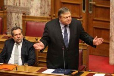 To (κοινοβουλευτικό) ρεύμα με τον Βενιζέλο…