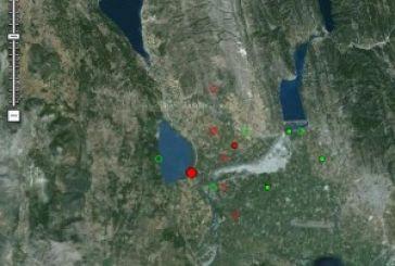 Σεισμός ξανά πριν από λίγο στο Αγρίνιο