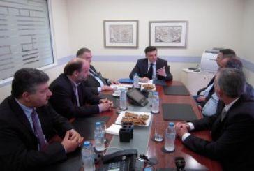 Συνάντηση Μωραϊτη με τη Διοίκηση του Επιμελητηρίου (video)