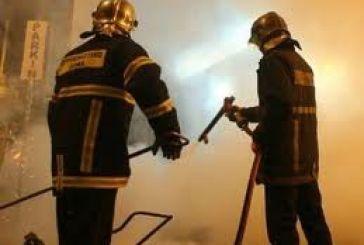 Φωτιά στην αντιπροσωπεία Καψιώχα