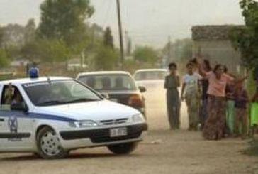 Αστυνομική επιχείρηση στον καταυλισμό στα Κουτρέικα