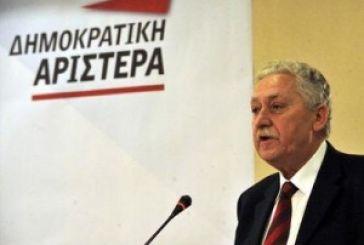 Υποψήφιος στην Αιτωλοακαρνανία ο Φώτης Κουβέλης