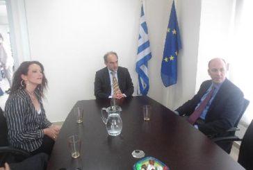 Συνάντηση Κατσιφάρα με το νέο Πρέσβη της Τουρκίας