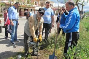 Εθελοντική δεντροφύτευση στην Τοπική Κοινότητα Στράτου