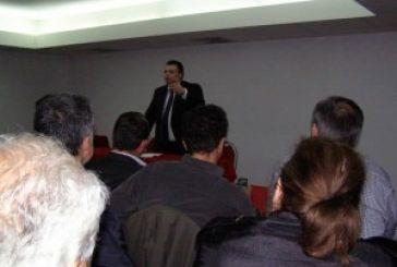 Από τη Ναύπακτο ξεκίνησε τις προεκλογικές του ομιλίες ο Νίκος Καραπάνος