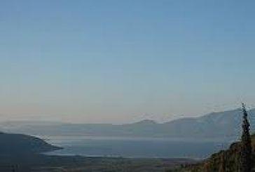Hμέρα καθαριότητας μέρους της λίμνης Τριχωνίδας