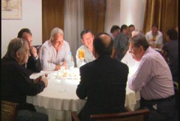 Xρίστος  Βερελής : Συνάντηση με μέλη της αθλητικής κοινότητας της Αιτωλοακαρνανίας.