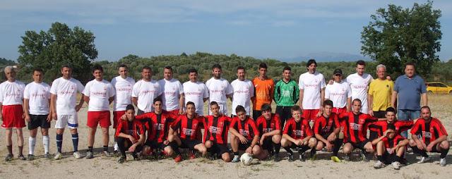 Λαμπρή ποδοσφαιρική επετειακή εκδήλωση της Φλόγας Παλαιομάνινας