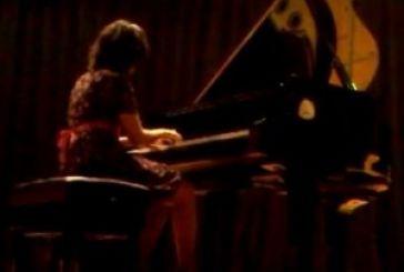 Βίντεο από το ρεσιτάλ πιάνου της Αμαλία Σαγώνα στο Παπαστράτειο Μέγαρο της ΓΕΑ
