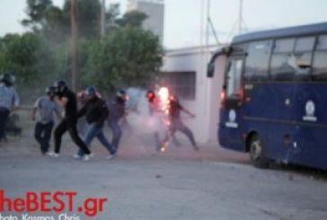 Τραυματίες αστυνομικοί από το Αγρίνιο στα επεισόδια της Πάτρας