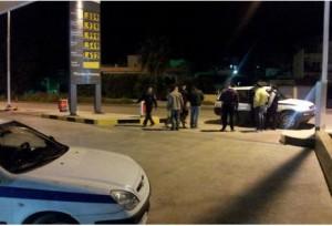 Ληστεία σε πρατήριο βενζίνης κοντά στο Μεσολόγγι