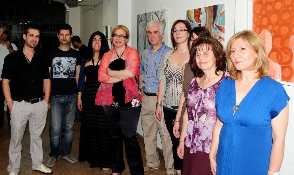 Εντυπωσιακή η έκθεση διδασκόντων  στο Εικαστικό Εργαστήρι του Δήμου Αγρινίου