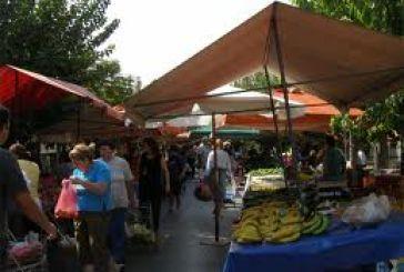 Επίσκεψη του Αντιδημάρχου Σπ. Καρβέλη στην λαϊκή αγορά Μεσολογγίου