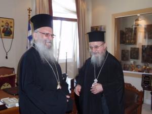 Ο Αρχιεπίσκοπος Θυατείρων και Μεγάλης Βρετανίας στην  Μητρόπολη Αιτωλίας και Ακαρνανίας