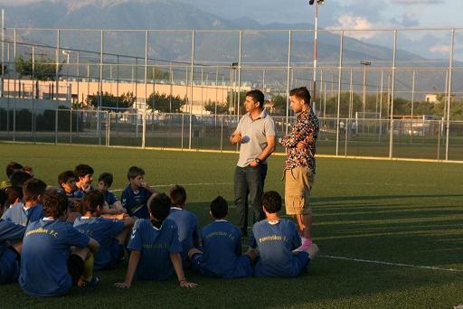 """Ένας άξιος """"πρεσβευτής"""" μίλησε στους μικρούς πρωταθλητές του Παναιτωλικού"""