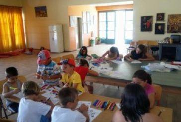 Μεσολόγγι: Πρόγραμμα καλοκαιρινής δημιουργικής απασχόλησης παιδιών