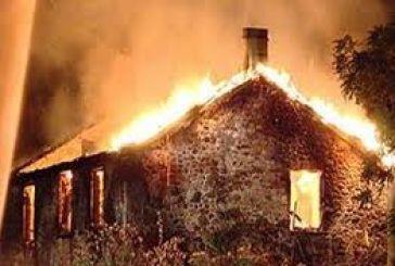 Κάηκε αγροικία στα Βρουβιανά
