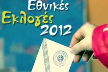 Αποτελέσματα σε καθε εκλογικό τμήμα των δήμων Μεσολογγίου, Ναυπακτίας και Θέρμου
