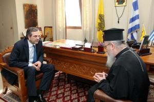 Τι ζήτησε ο Μητροπολίτης Κοσμάς από τον πρόεδρο της ΝΔ