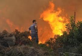 Φωτιά ανησύχησε χθες το Καινούργιο