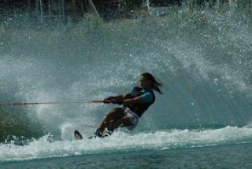 Φωτορεπορτάζ από το Πανελλήνιο Πρωτάθλημα Θαλασσίου Σκί Νέων στη λίμνη Στράτου