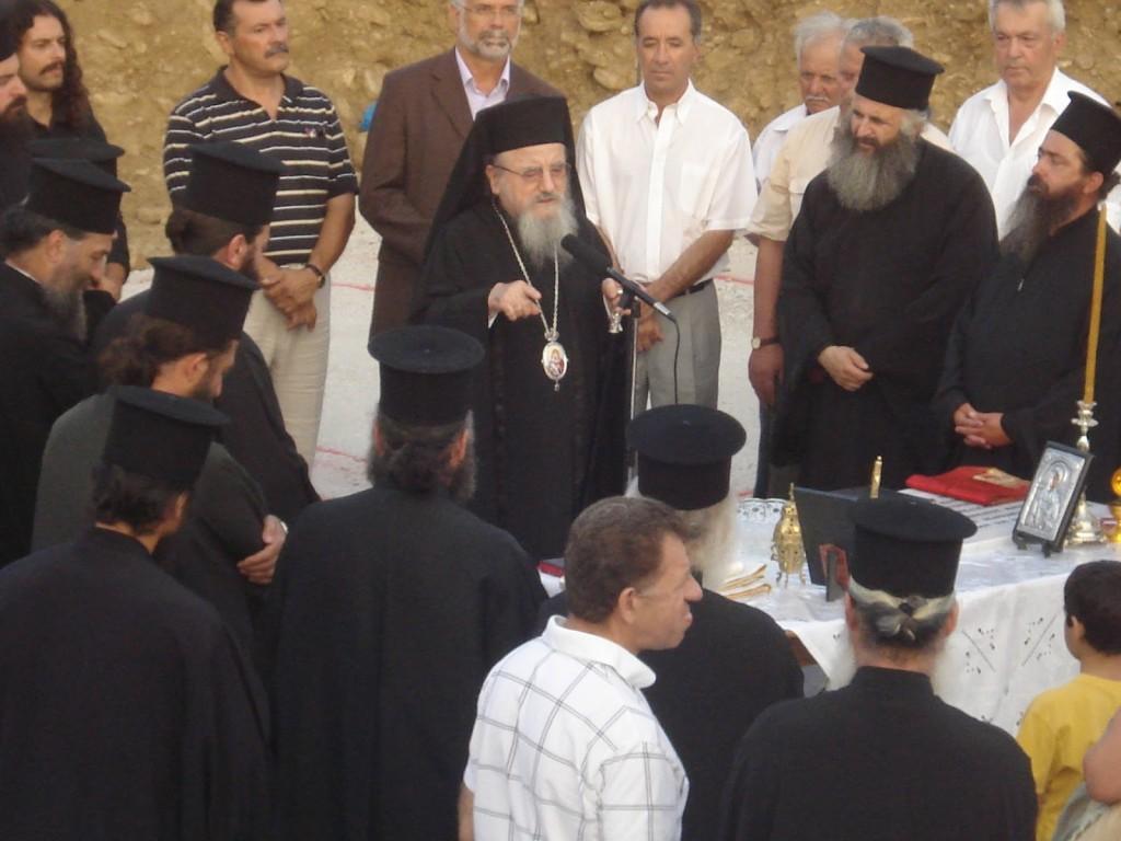 """Χτίζεται σιγά σιγά το """"σπίτι"""" της Αγίας Μαρίνας στη Ματαράγκα"""