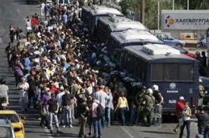Συλλαλητήριο στο Αγρίνιο για τους χαλυβουργούς