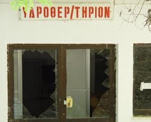 Εικόνες εγκατάλειψης και παρακμής στα Λουτρά Τρύφου