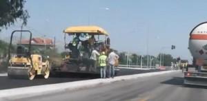Αυξημένη κίνηση  στην Εθνική Οδό λόγω έργων