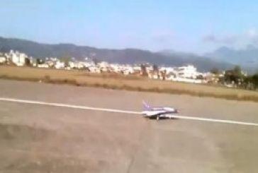 Ένα…Mirage 2000 απογειώνεται από το αεροδρόμιο Αγρινίου