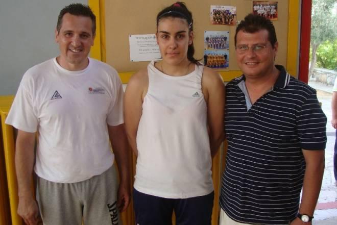 Η Αγρινιώτισσα διεθνής Γωγώ Σταμάτη στην ομάδα μπάσκετ του  Ικάρου
