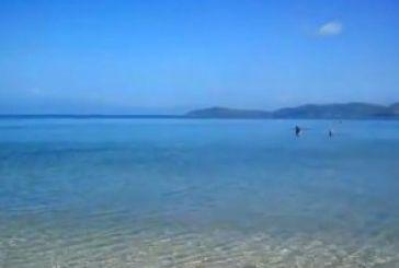 Παραλία Παναγιά στην περιοχή της Βόνιτσας
