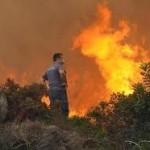 Κινητοποίηση για φωτιά στο Αγγελόκαστρο