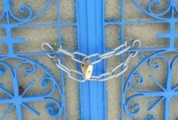 «Λουκέτο» στο Ναό του Αγίου Κοσμά στα Παλιάμπελα (φωτό)