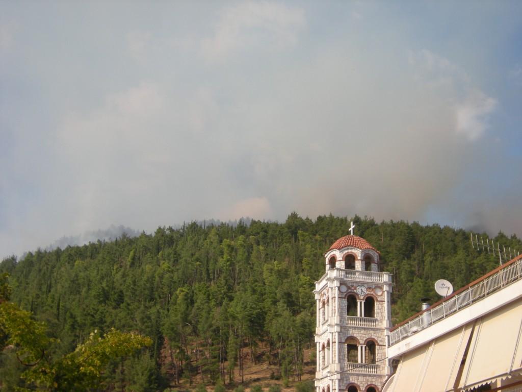 Δεν απειλείται τελικά η Παραβόλα απ' τη φωτιά