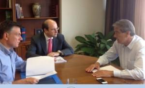 Συνάντηση Ν. Σηφουνάκη – Θ. Μωραΐτη με τον Υπουργό Ανάπτυξης Κ. Χατζηδάκη