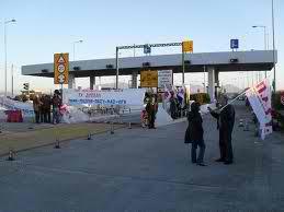 Κινητοποίηση στα διόδια του Ακτίου για τους εργαζόμενους στον άξονα Αμβρακία-Άκτιο