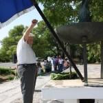 Πολιτικό μνημόσυνο του παραρτήματος Π.Ε.Α.Ε.Α. στα Καλύβια