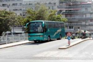 Επιβάτες σταμάτησαν λεωφορείο