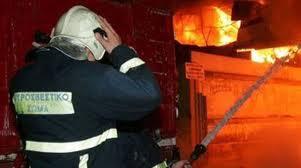 Ζημιές σε κατοικία του Αγρινίου από φωτιά