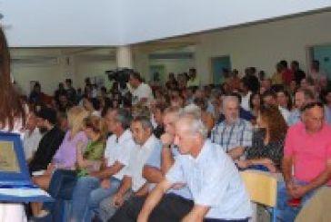 Ο Δήμος Ξηρομέρου τίμησε τη Μαρία Λεκατσά