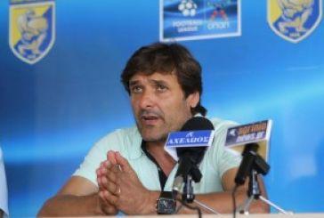Καραγεωργίου:  Μόνο νίκη με Καλλονή