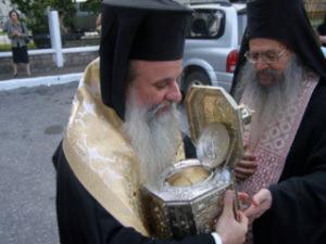 Η Λεπενού υποδέχεται την τίμια κάρα του Αγίου Βησσαρίωνος Αρχιεπισκόπου Λαρίσης