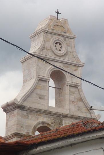 Η αναστήλωση του καμπαναριού του Αγίου Γεωργίου Αιτωλικoύ