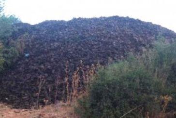 Επικίνδυνα ελαστικά πεταμένα σε αγροτεμάχιο στην Τσαπουρνιά