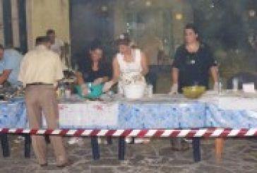 Φωτό από τη γιορτή ψαριού στο Αιτωλικό